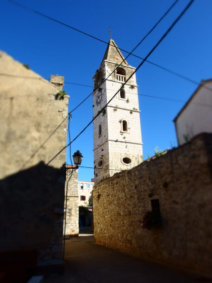 Free photo: Church in Sveti Filip i Jakov