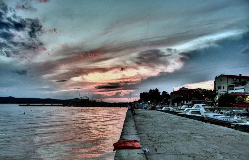 Free photo: City Riverbank in Croatia
