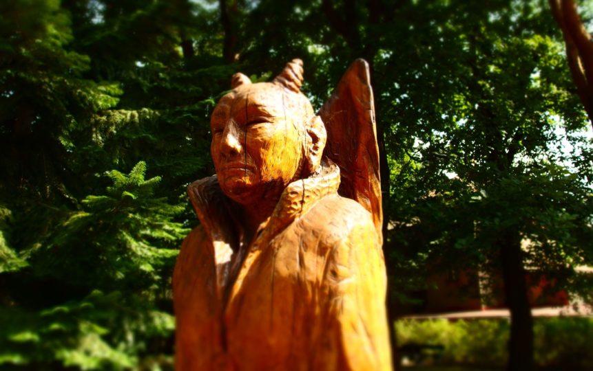 Free photo: Devil Statue