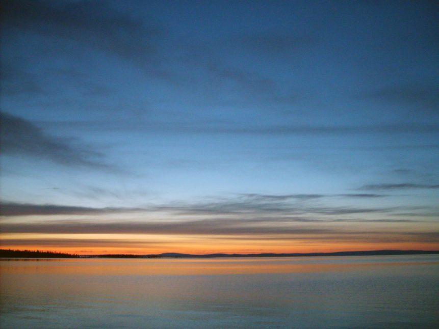 Free photo: Evening On The Lake