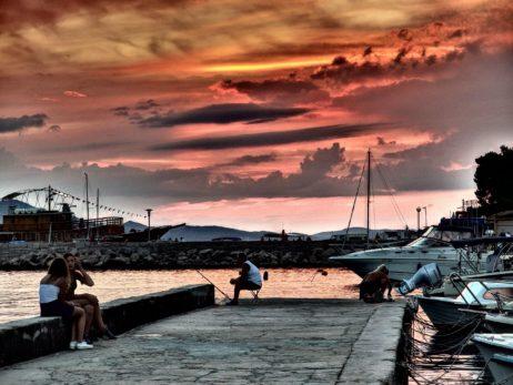 Evening Sky In Marina