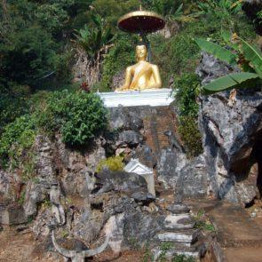Golden Buddha in Thailand