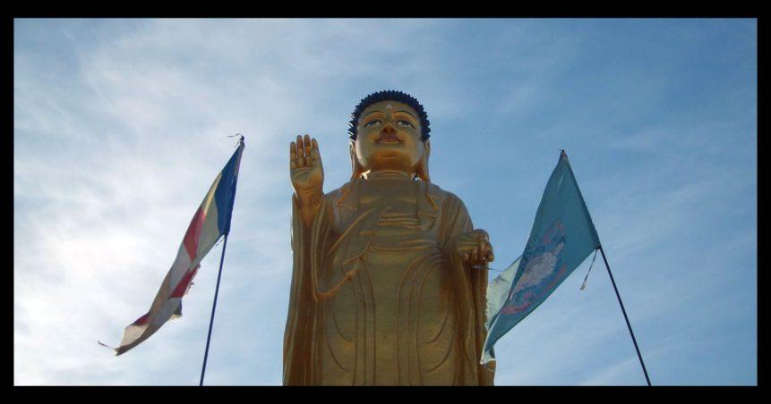 Free photo: Golden Buddha Wallpaper