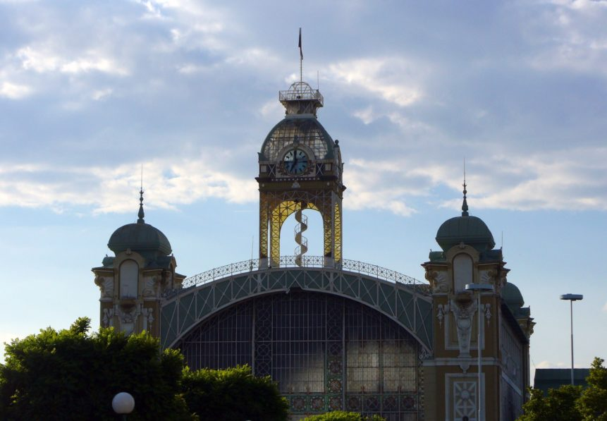 Free photo: Industrial Palace in Prague