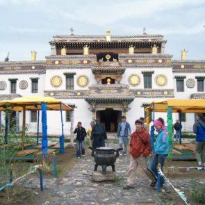 Temple in Erdene Zuu