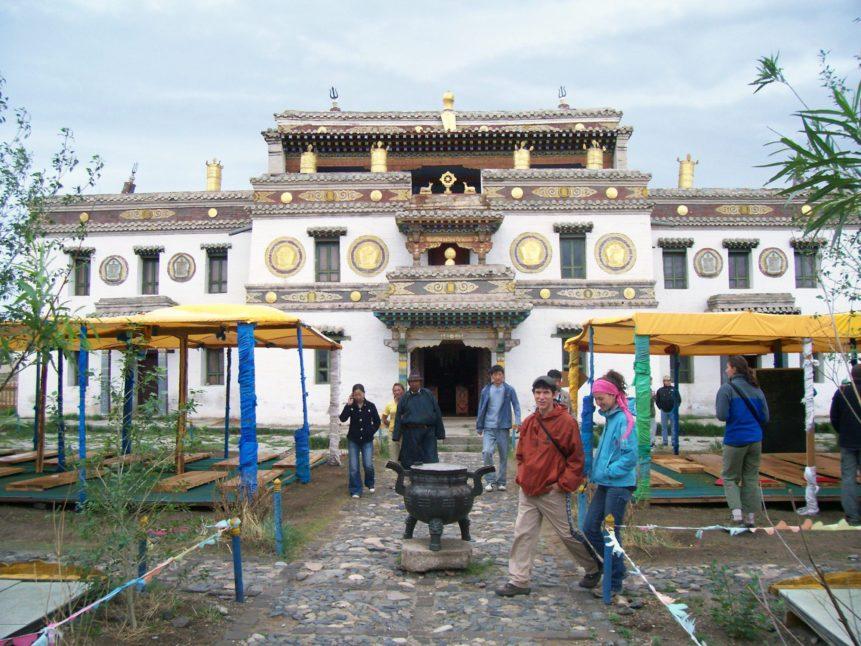 Free photo: Temple in Erdene Zuu