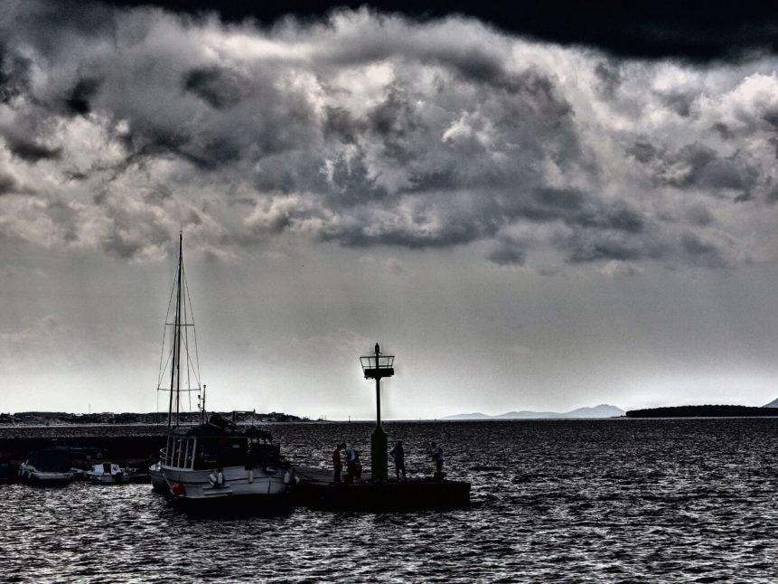 Free photo: Lighthouse in Croatia