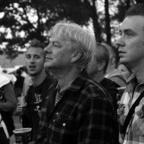 Men at the Festival