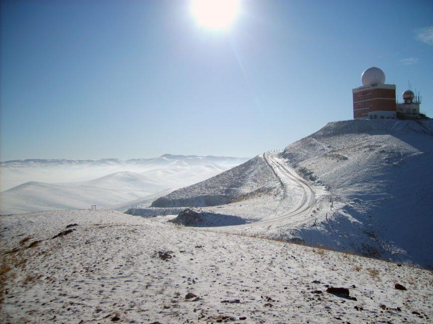 Free photo: Mountain Sun