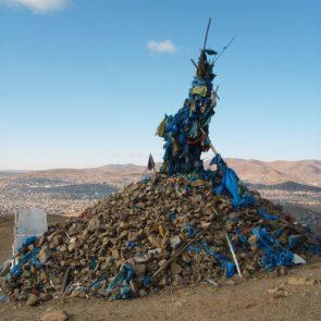 Sacred Ovoo in Mongolia