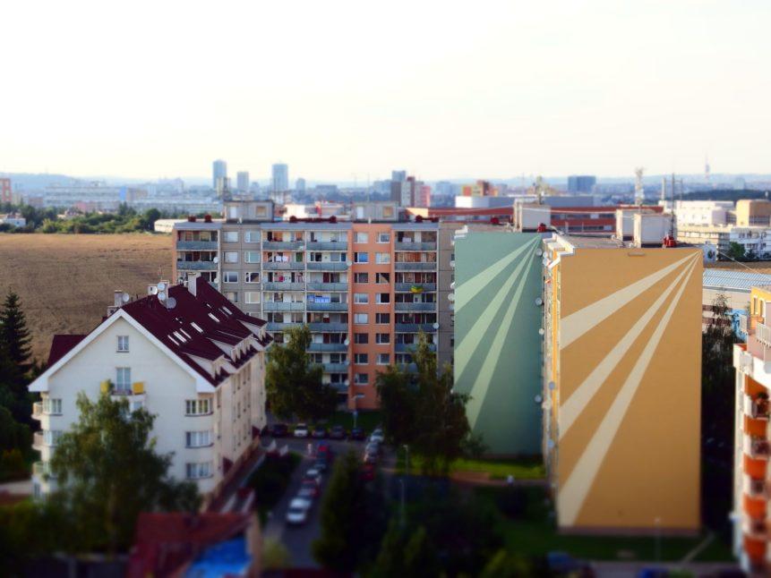 Free photo: Panel Building