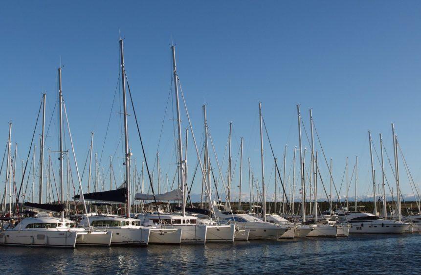 Free photo:  The Yacht Marina