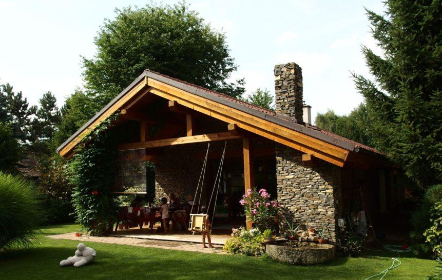 Free photo: Stone House