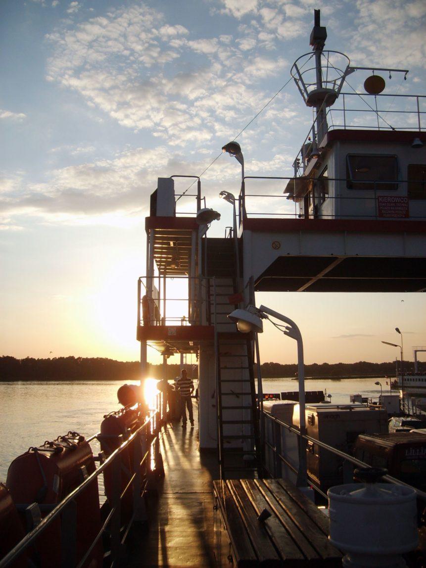 Free photo: Sunset On The Ship