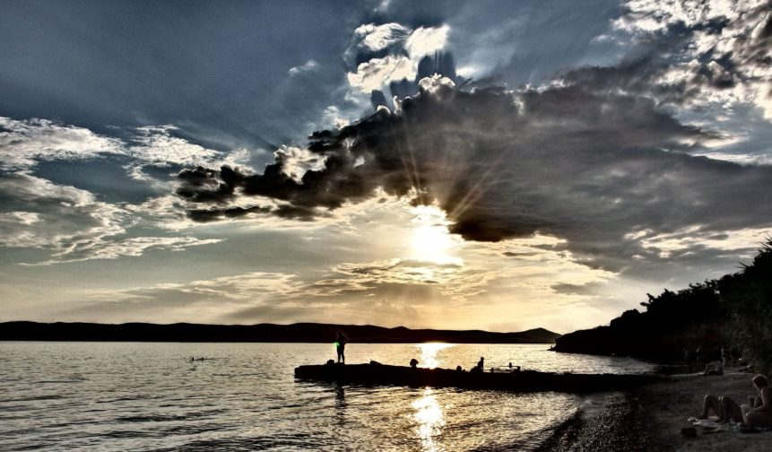 Free photo: Sunset, Clouds And Sea