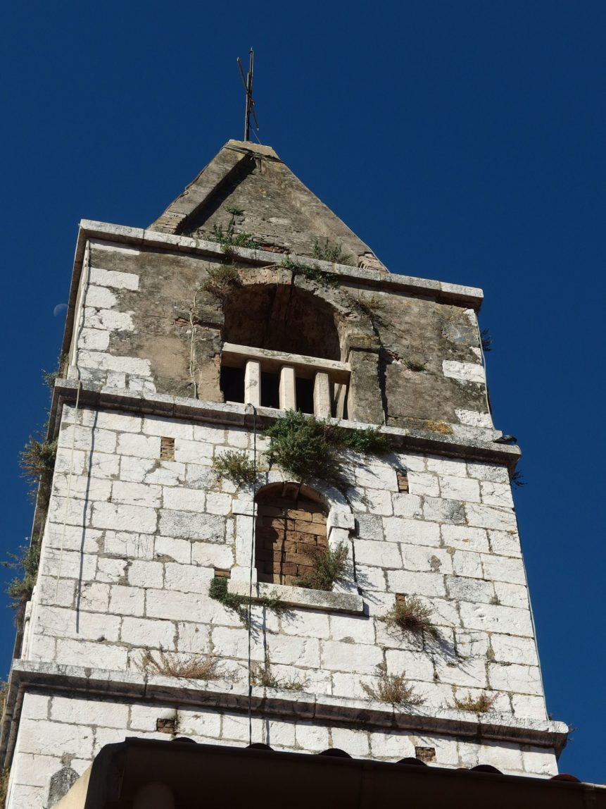 Free photo: Stone Tower Church