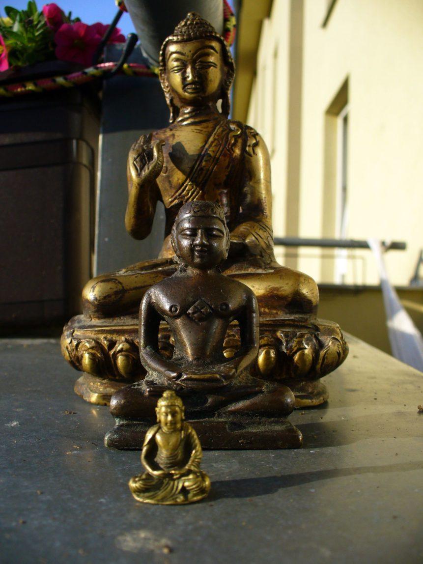 Free photo: Three Buddhas