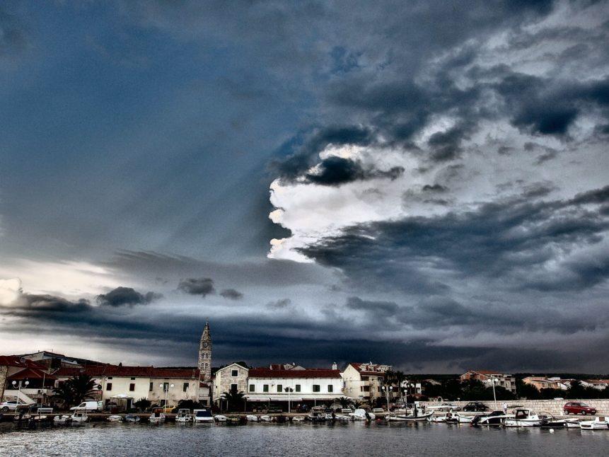 Free photo: Turanj City In Croatia