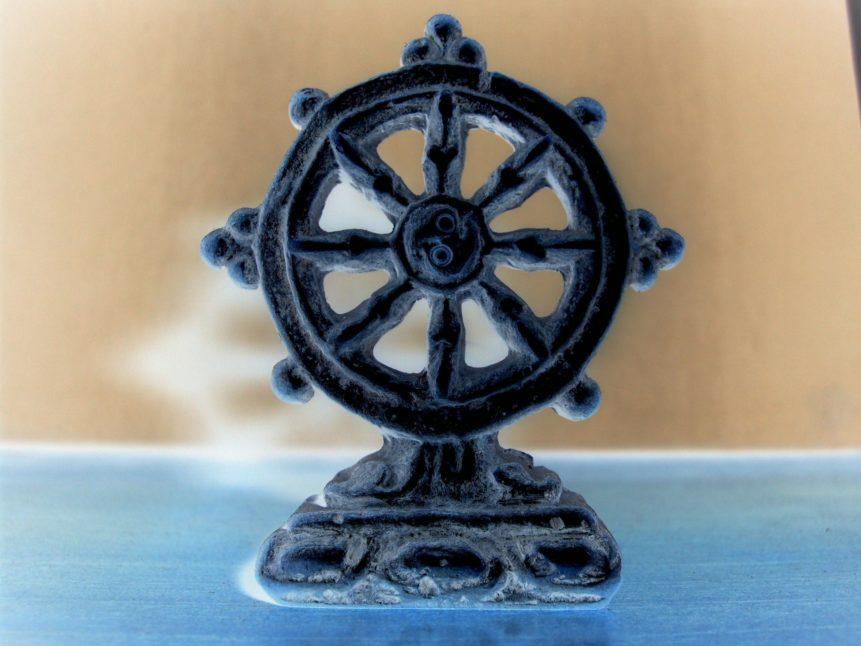 Free photo: Buddhist Wheel