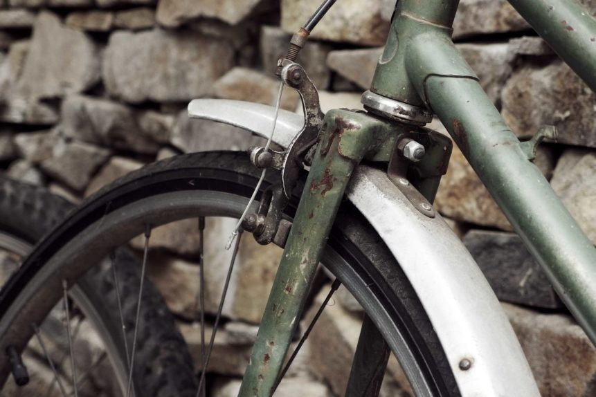 Free photo: Old Bicycle