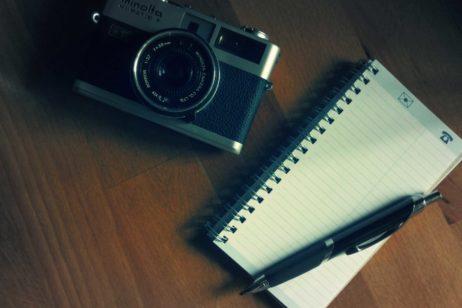 Travel Notes and Camera