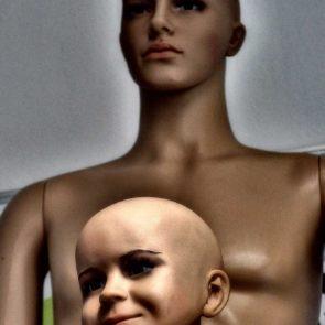 Children and Man Mannequin