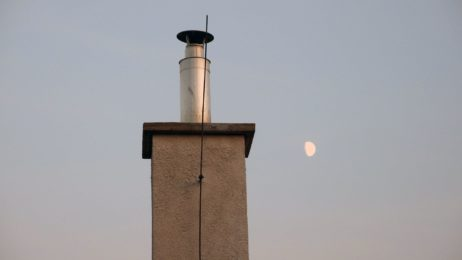 Chimney and Moon