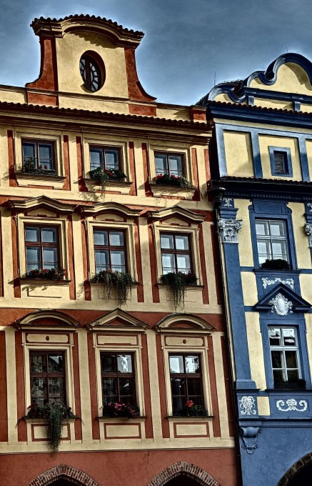 Free photo: Color Houses In Prague