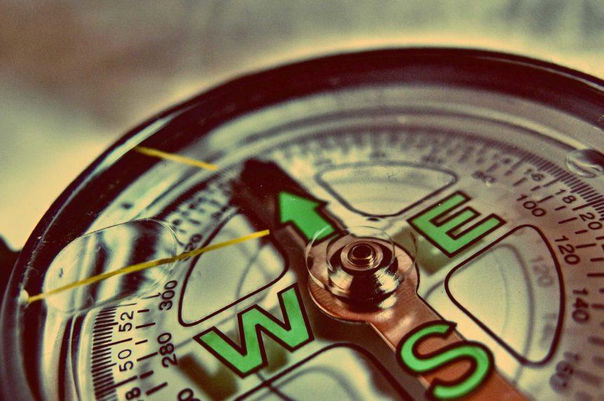 Free photo: Compass