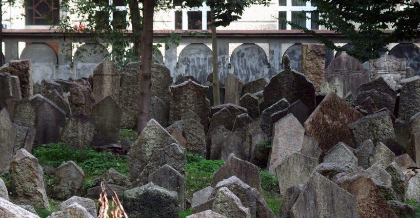 Free photo: Jewish Cemetery in Prague