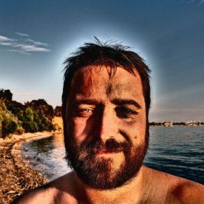 Bearded Man's Face