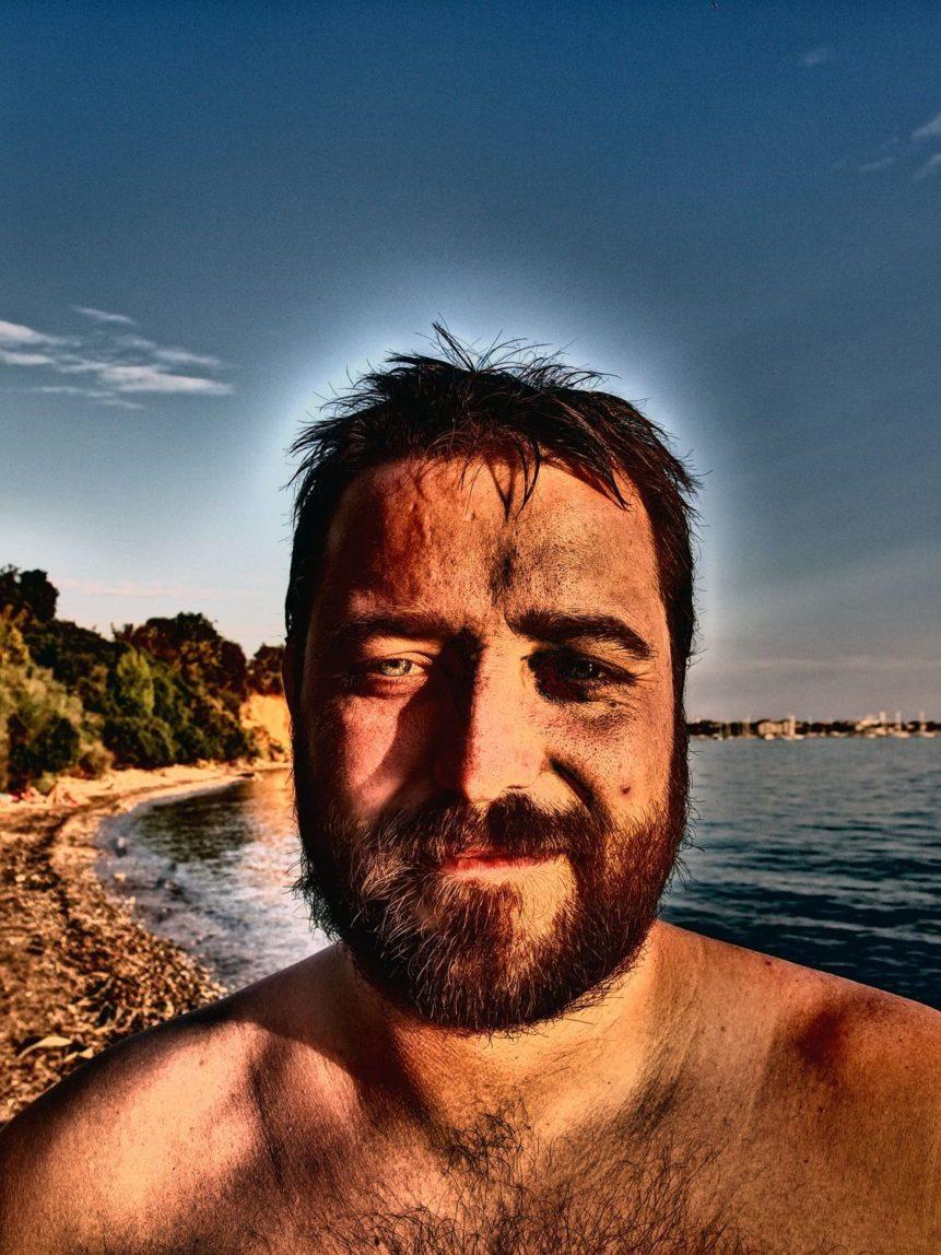 Free photo: Bearded Man's Face