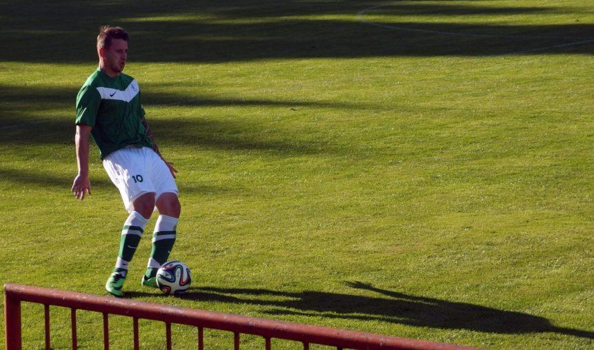 Free photo: Footballer