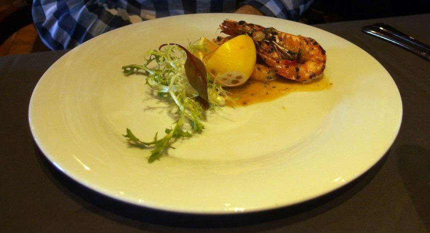 Free photo: Shrimp on a Plate