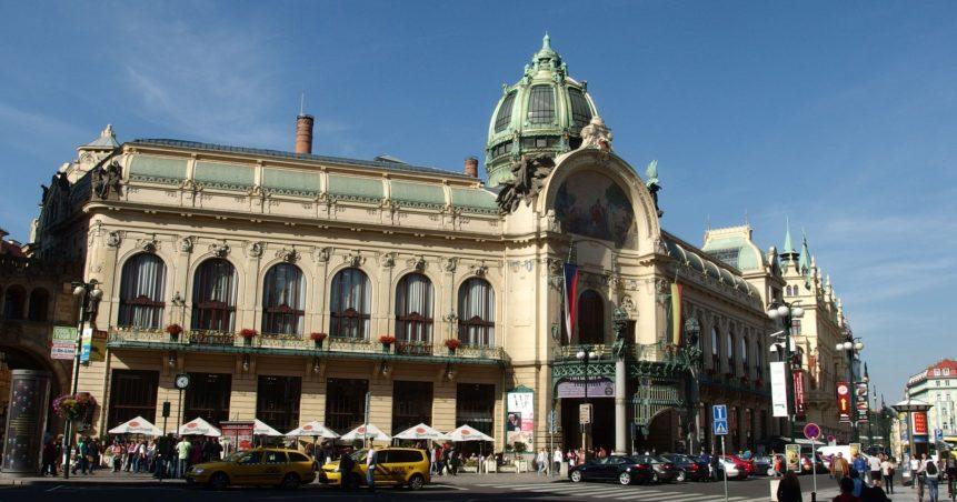 Free photo: Municipal House in Prague