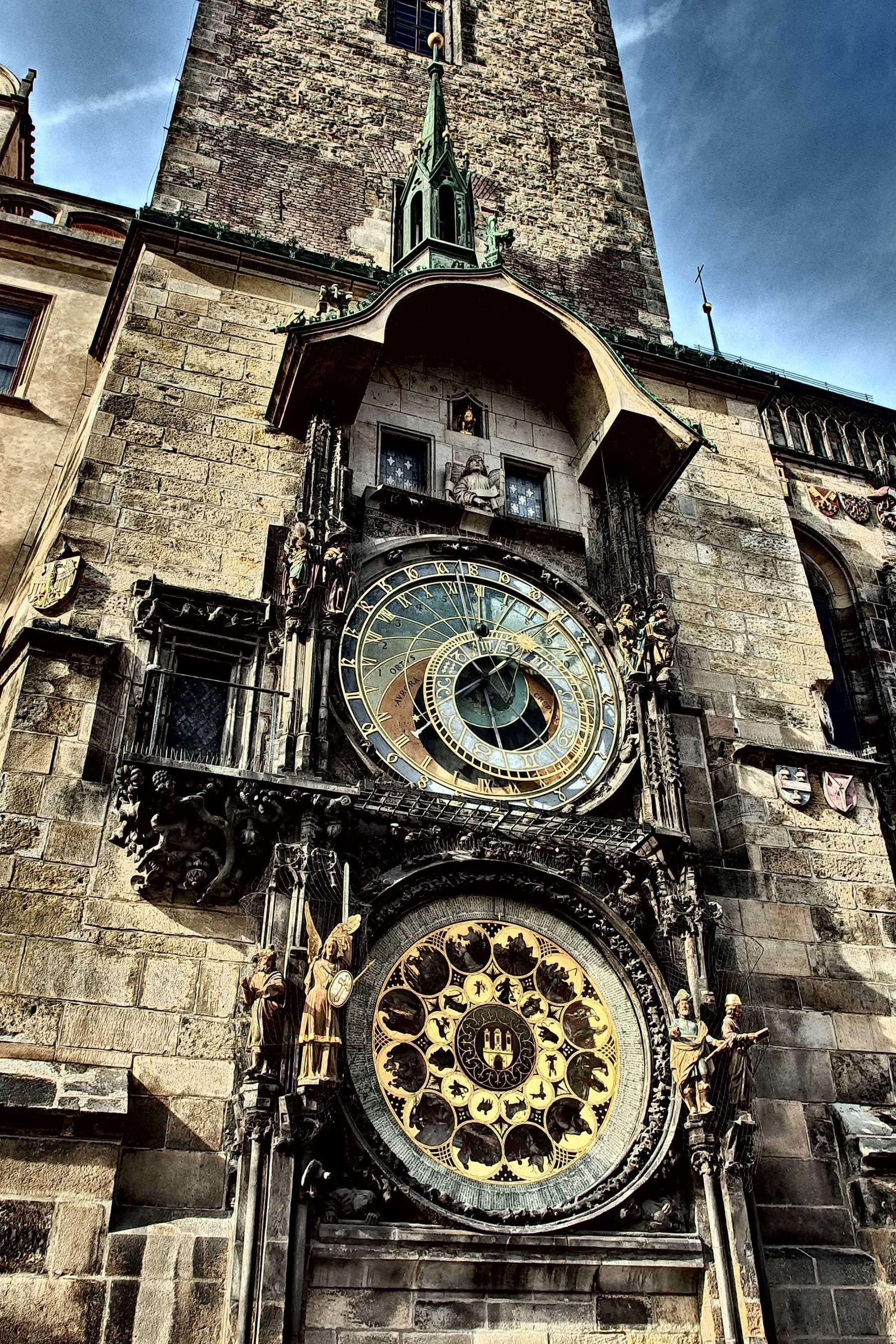 Free Image: Prague Astronomical Clock