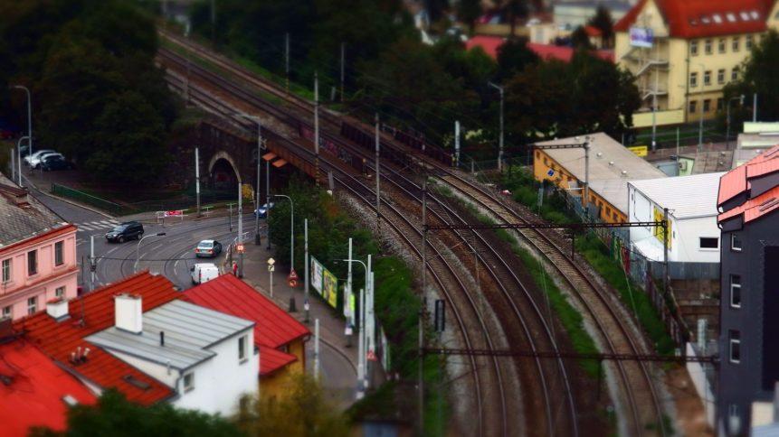 Free photo: City Railroad