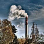 Smoking Factory Chimney