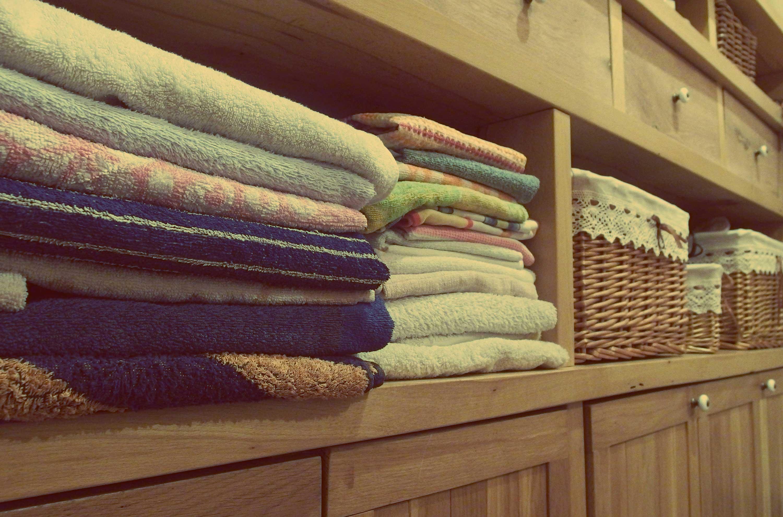 Free Image: Towels In Bathroom