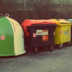 Free photo: Dustbins