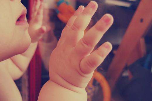 Free photo: Baby Hand