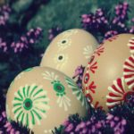 Free photo: Three Easter Eggs