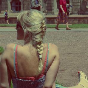 Free photo: Blonde Girl