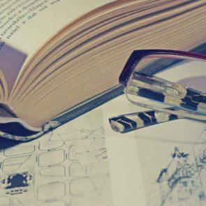 Free photo: Books And Glasses