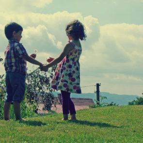 Free photo: Childhood Friends