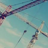 Free photo: Cranes