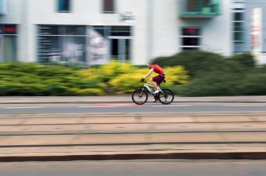 Free photo: Cyclist