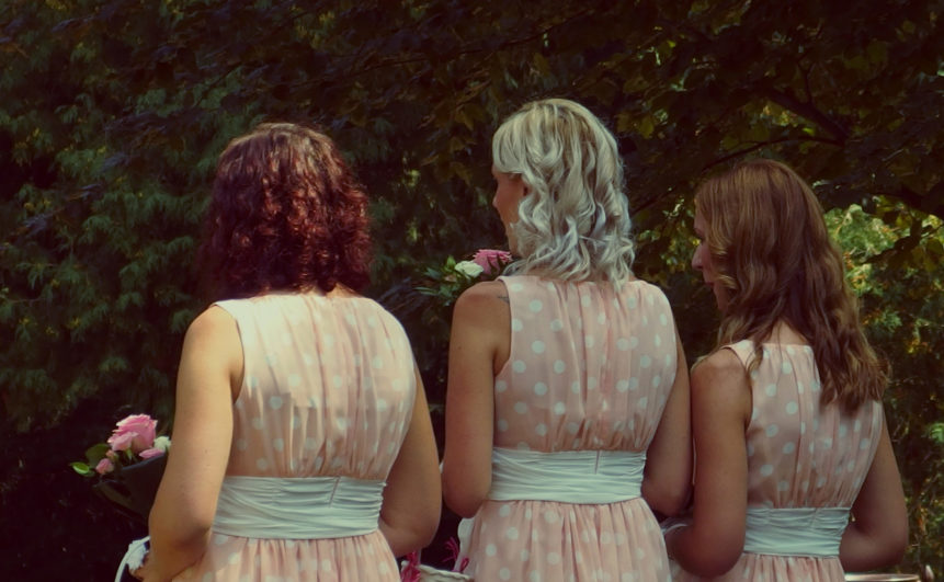 Free photo: Bridesmaid