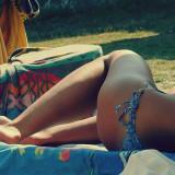 Free photo: Sunbathing
