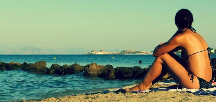 Free photo: Woman on the Beach